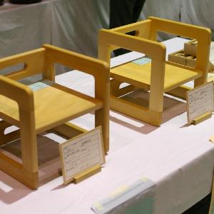 ブナとスプルースで作った子供用椅子